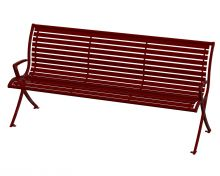 Aurora Bench - ARB-6-Berry