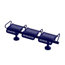 State Street Modular Seating SSMF-3-SF-Midnight Blue