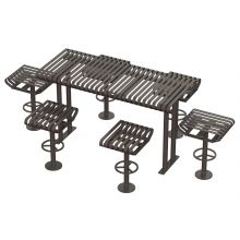 Carnival Picnic Bar Height Table