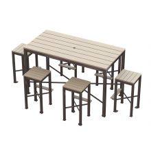 Monona Bar Height Picnic Table