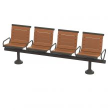 Gramercy Modular Backed Seating
