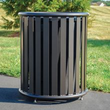 State Street Trash Receptacle