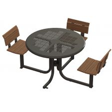 Lofty Courtyard Table