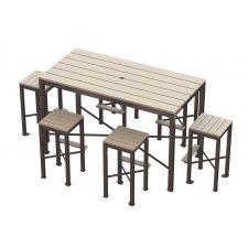Monona Bar Height Picnic Table