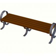 Walden Circle Arm Bench