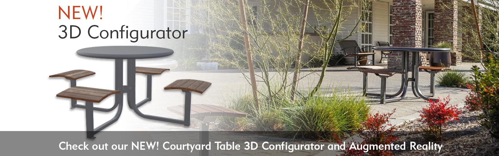 Thomas Steele Courtyard Table