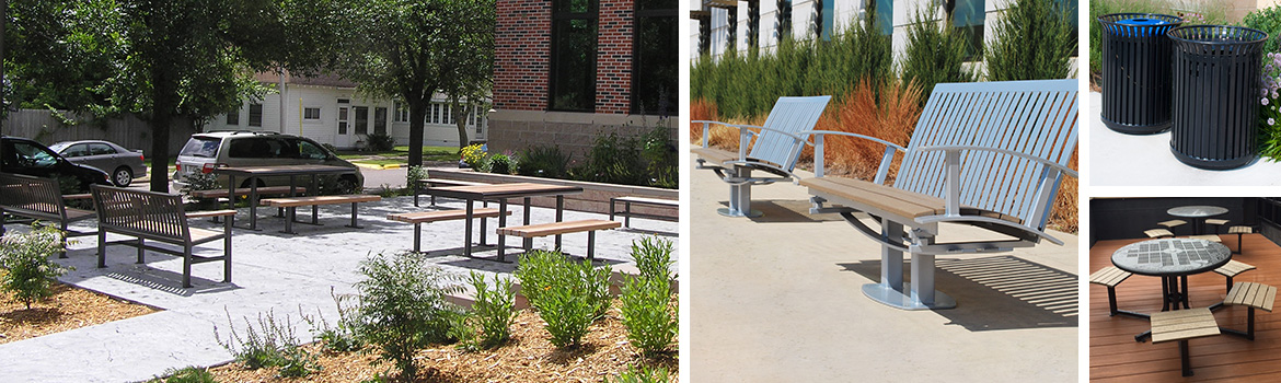 Site Furniture for Architects and Engineers