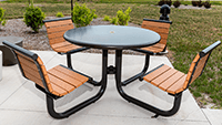 Outdoor Courtyard Table