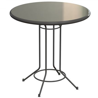 Rod Base Cafe Table