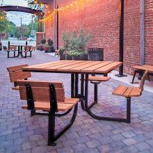Lofty Courtyard Table