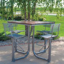 Volare Courtyard Bar Table